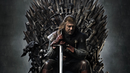 3840x2160-iron throne game of thrones sean bean ned stark
