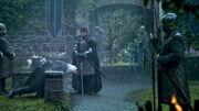 Robb prepara-se para executar Rickard