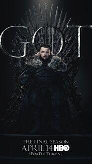 Season 8 poster Samwell