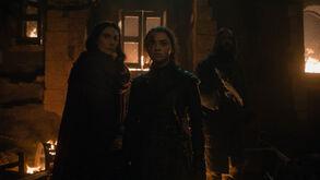 Arya, Hound & Red Woman S8 Ep3