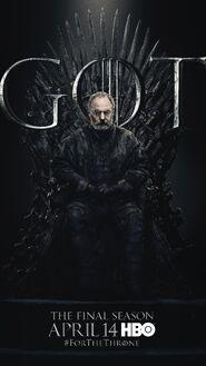 Season 8 poster Davos