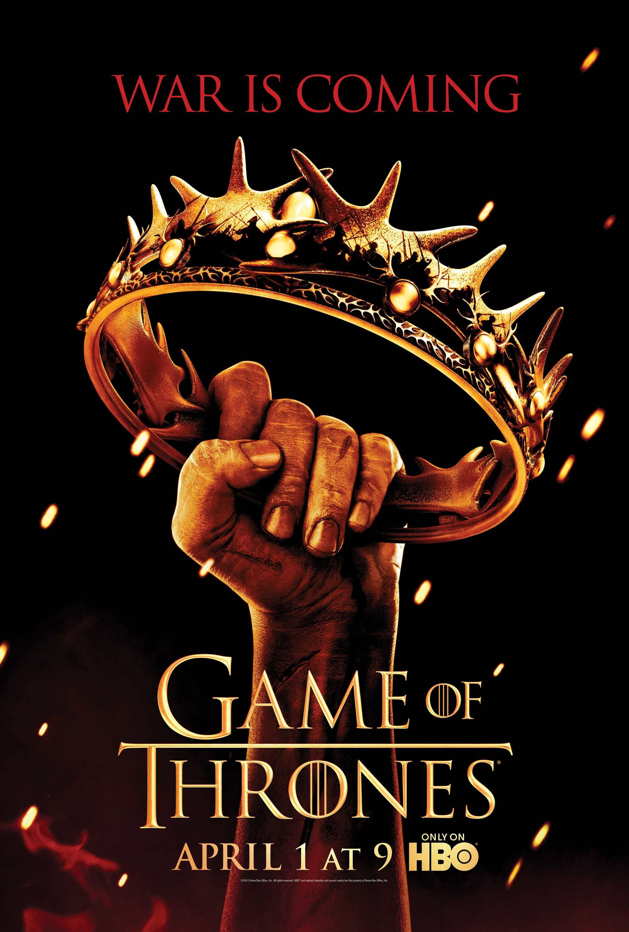 Image result for game of thrones season 2 poster