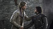 Jaime Lannister and Jon Snow 1x02