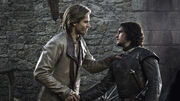 Jaime Lannister and Jon Snow 1x02