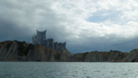 Драконий Камень. Вид с моря