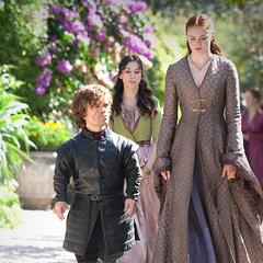 Tyrion, Sansa i Shae.