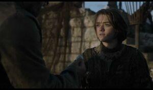 410 Arya Stark Münze von Jaqen H'ghar
