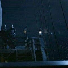 Stannis i Davos w drodze do stolicy.