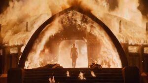 604 brennender Tempel