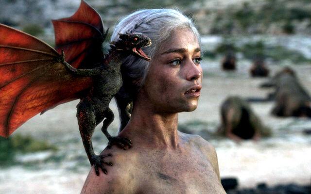 File:Daenerys and dragon.jpg