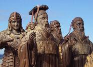 Estátuas dos Sete