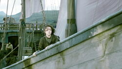 Арья на борту корабля 4x10