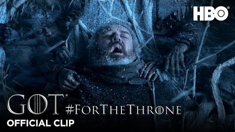 """Hold the Door"" ForTheThrone Clip Game of Thrones Season 6"