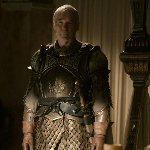 Lord Kommandant der Königsgarde Barristan Selmy