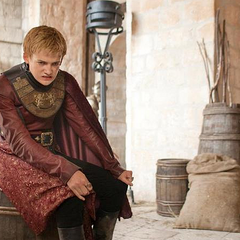 Joffrey after surviving the riots in