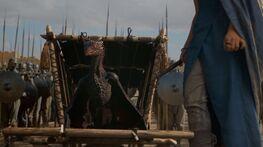 Drogon emerges S3E4