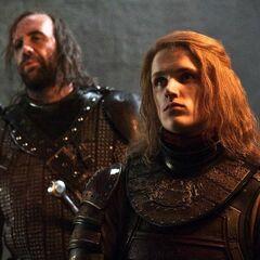 Lancel i Sandor Clegane.