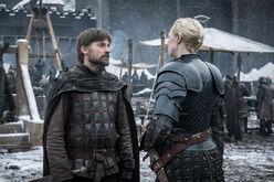 Brienne Jaime Knigh of Seven Kingdoms