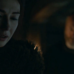 Melisandre i Davos.