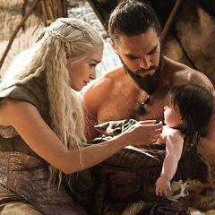 Daenerys Vision von ihrer Familie.