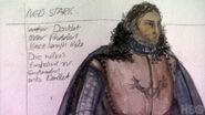 Ned Stark costume Season 1 concept art 2