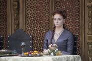 Sansa Purple Wedding costume