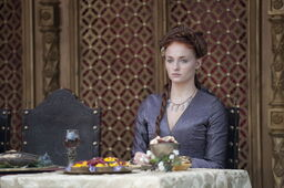 Sansa Purple Wedding costume