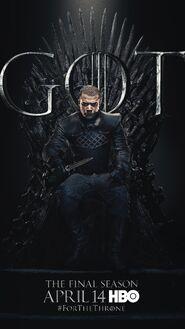 Season 8 poster Grey Worm