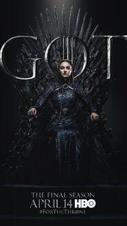 Season 8 poster Sansa