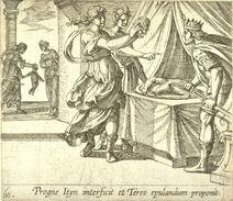 Antonio Tempesta - Tereus Philomela Procne