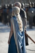 Daenerys costume Siege of Meereen back view