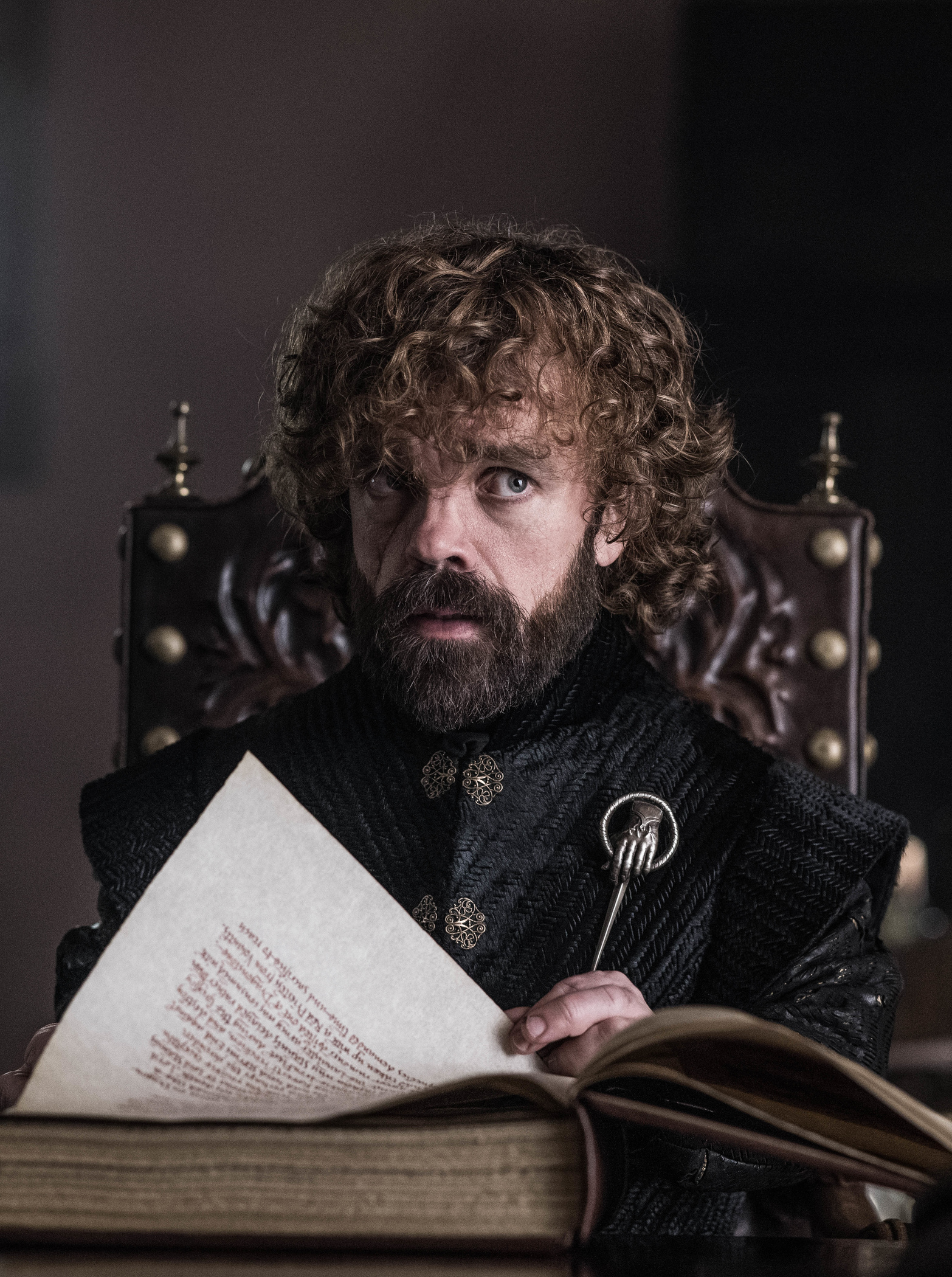 "Game Of Thrones Hand of Queen PIN 3/"""