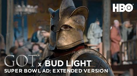 Game of Thrones X Bud Light Official Super Bowl LIII Ad Extended Version HBO