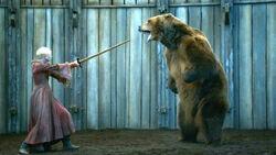 Бриенна и медведь 3x07