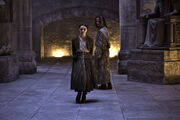 Arya and Jaqen The Dance of Dragons