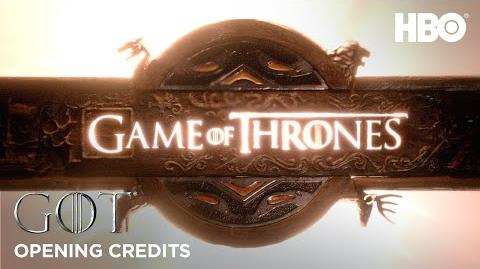 Opening Credits Game of Thrones Season 8 (HBO)