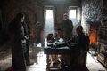 Stannis Baratheon in Castle Black with Jon Snow.jpg