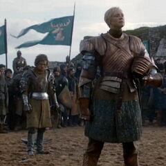 Loras i Brienne podczas turnieju.