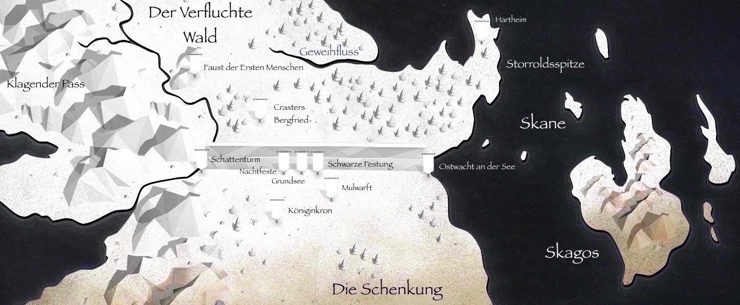 Got Karte Norden.Schenkung Game Of Thrones Wiki Fandom Powered By Wikia