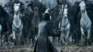 Джон встречает конницу Рамси 6x09