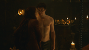 Melisandre seducing gendry