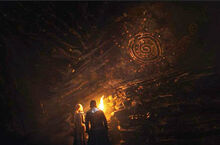 Джон и Дейнерис в пещере 7x04