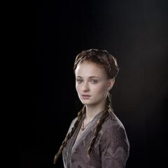 Promotional image of Sansa in Season 1