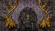 Robert in the Iron Throne