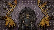 Robert in the Iron Throne