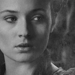 Promotional image for Sansa in Season 4.