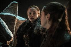 Sansa & Arya S8 Ep3