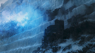 Viserion burning down WALL s7
