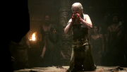Daenerys flanked by dosh khaleen