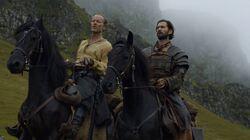 601 DieRoteFrau Jorah Mormont Daario Naharis